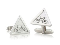 Warning Sign Cufflinks